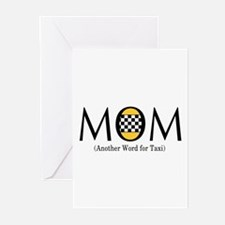 Taxi Mom Greeting Cards (Pk of 10)