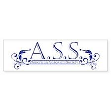 A.S.S. Bumper Sticker
