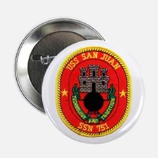 "USS San Juan SSN 751 2.25"" Button"