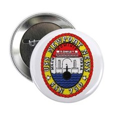 "USS Newport News SSN 750 2.25"" Button"