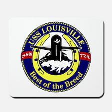 USS Louisville SSN 724 Mousepad