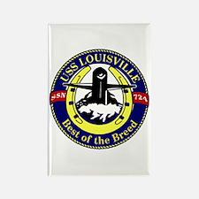 USS Louisville SSN 724 Rectangle Magnet