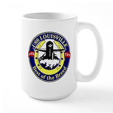 USS Louisville SSN 724 Mug