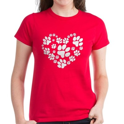 Paws Heart T-Shirt