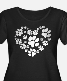 Paws Heart T