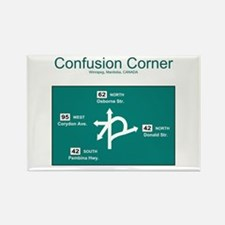 Confusion Corner Rectangle Magnet