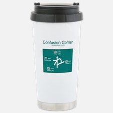 Confusion Corner Stainless Steel Travel Mug
