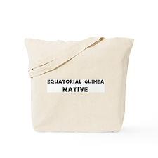 Equatorial Guinea Native Tote Bag