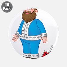 """Cute Hanukkah 3.5"""" Button (10 pack)"""