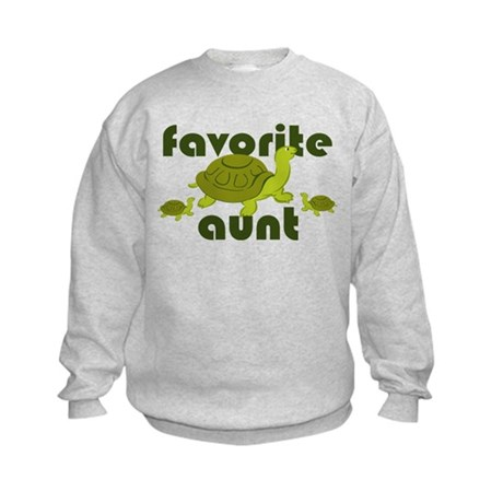 Favorite Aunt Kids Sweatshirt