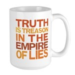 Truth is Treason Large Mug