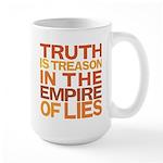 Truth is Treason Large Mug
