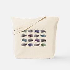 Fruit Fly Antique Engraving Tote Bag