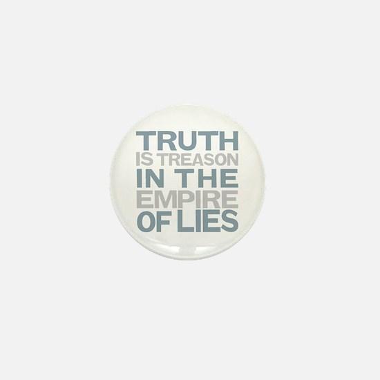 Truth is Treason Mini Button