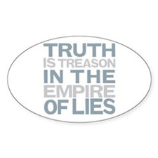 Truth is Treason Decal
