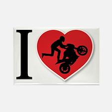 Love Wheelies Rectangle Magnet