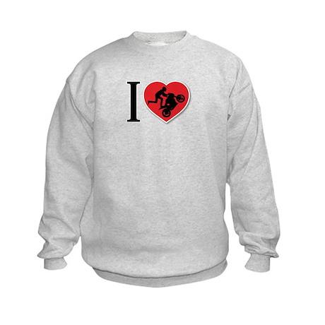 Love Wheelies Kids Sweatshirt