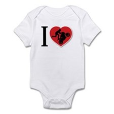 Love Wheelies Infant Bodysuit