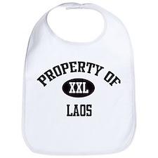 Property of Laos Bib