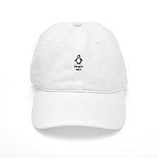 Penguin Nerd Baseball Cap