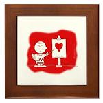 Lessons in Love Framed Tile
