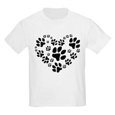 Paws Heart T-Shirt