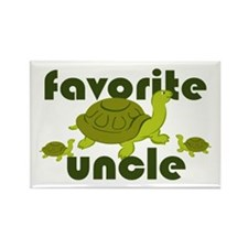 Favorite Uncle Rectangle Magnet (100 pack)