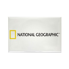 National Geographic Rectangle Magnet