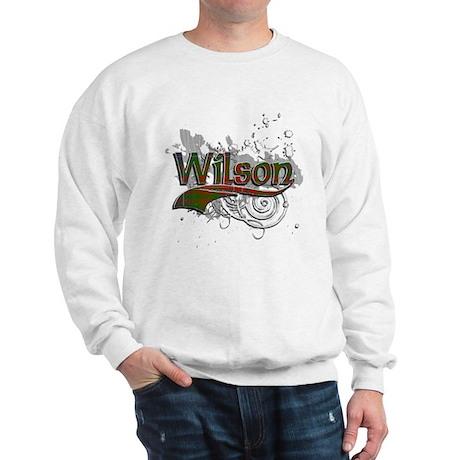 Wilson Tartan Grunge Sweatshirt