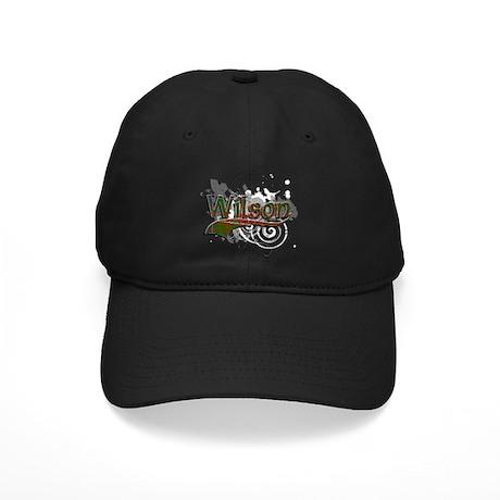 Wilson Tartan Grunge Black Cap