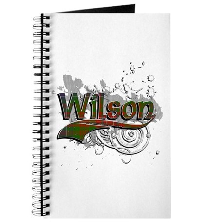 Wilson Tartan Grunge Journal
