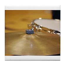 Cute Drum Tile Coaster