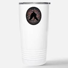 Hockey Goalie Stainless Steel Travel Mug