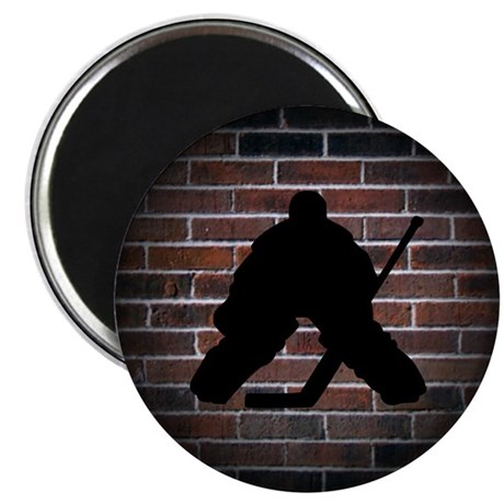 "Hockey Goalie 2.25"" Magnet (10 pack)"