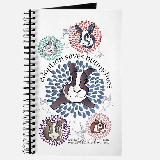 Rainbow Bunny Journal