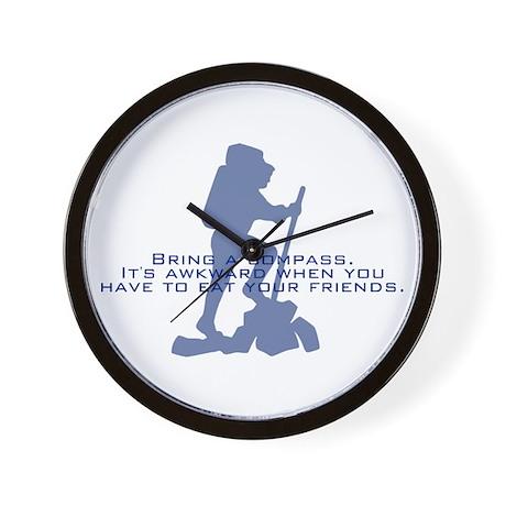 Bring a compass Wall Clock