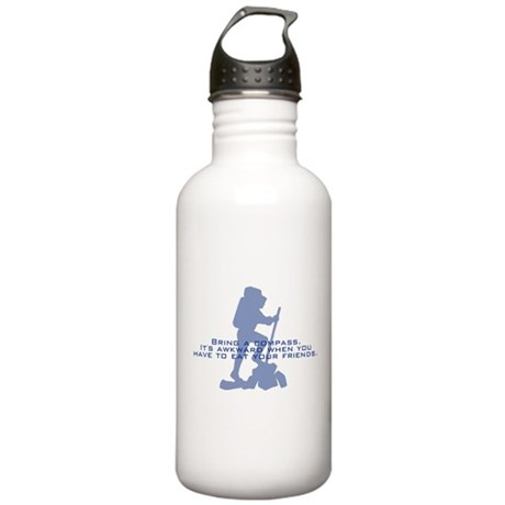 Bring a compass Stainless Water Bottle 1.0L