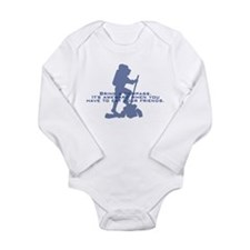 Bring a compass Long Sleeve Infant Bodysuit