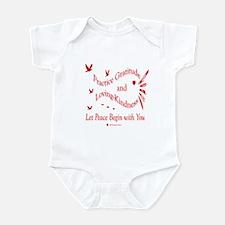 Gratitude and Loving-Kindness Infant Creeper