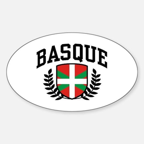 Basque Sticker (Oval)