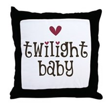 Heart TwiBaby Throw Pillow