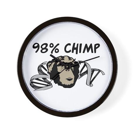 98% Chimp Wall Clock