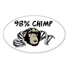 98% Chimp Decal
