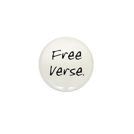 Free Verse Mini Button
