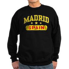 Madrid Spain Sweatshirt