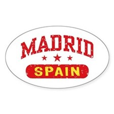 Madrid Spain Decal