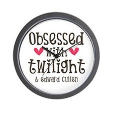Obsessed with Twilight Wall Clock