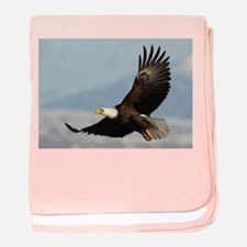 Eagle Flight baby blanket