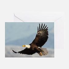 Eagle Flight Greeting Card