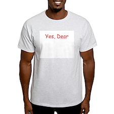 Yes, Dear - Ash Grey T-Shirt